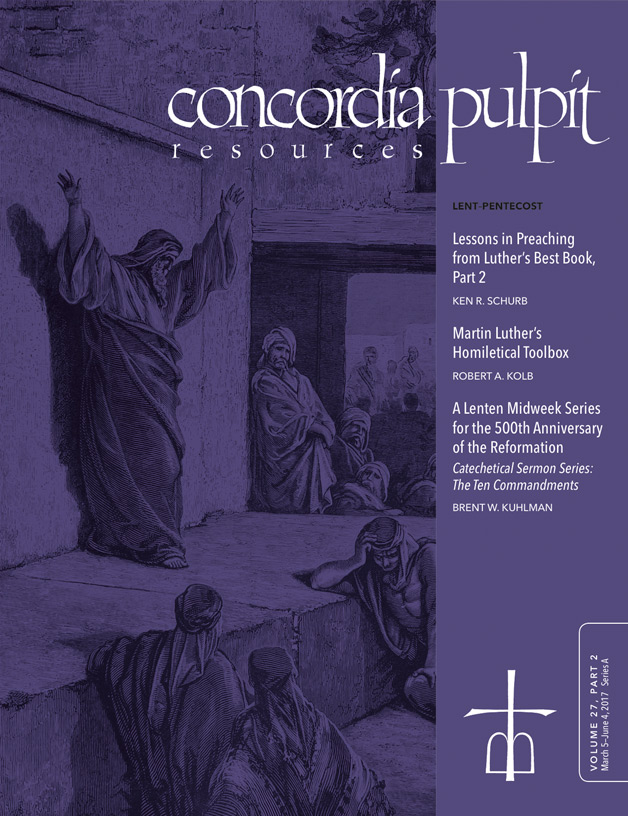Concordia Pulpit Resources - Home