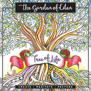 The Garden of Eden: Tree of Life Coloring Book