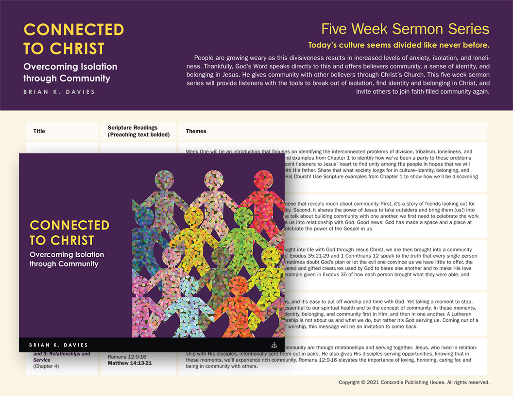 Connected to Christ Sermon Series