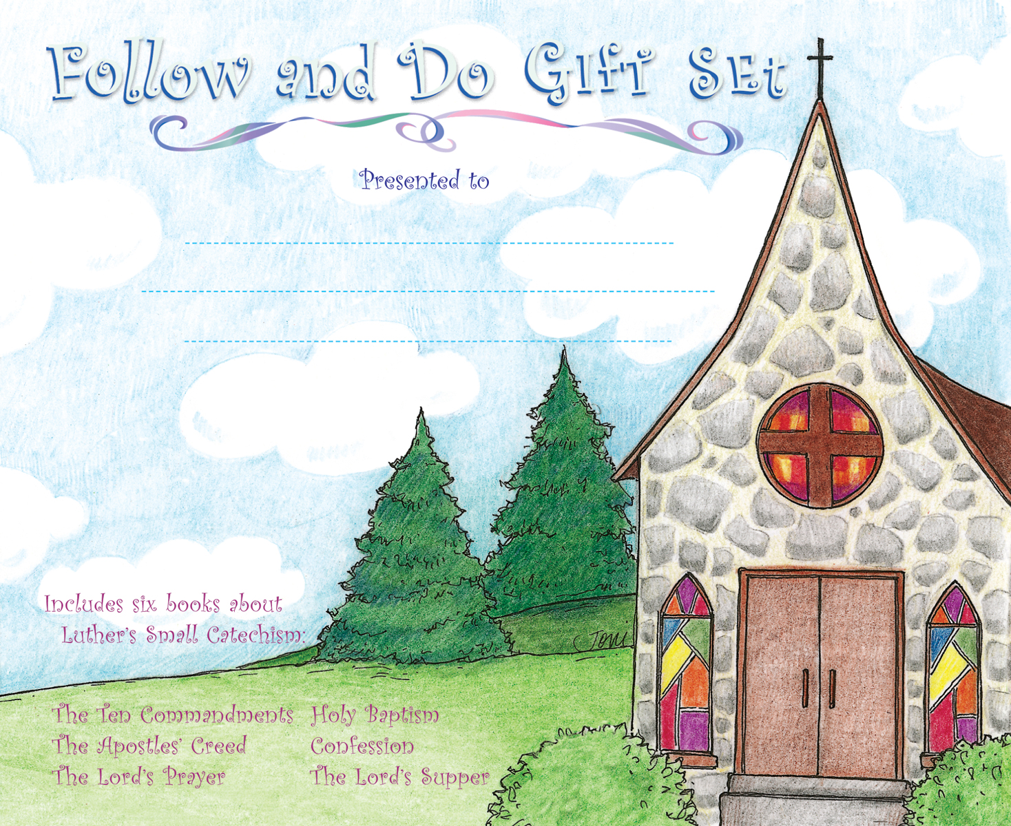 Cover for Follow and Do Boxed