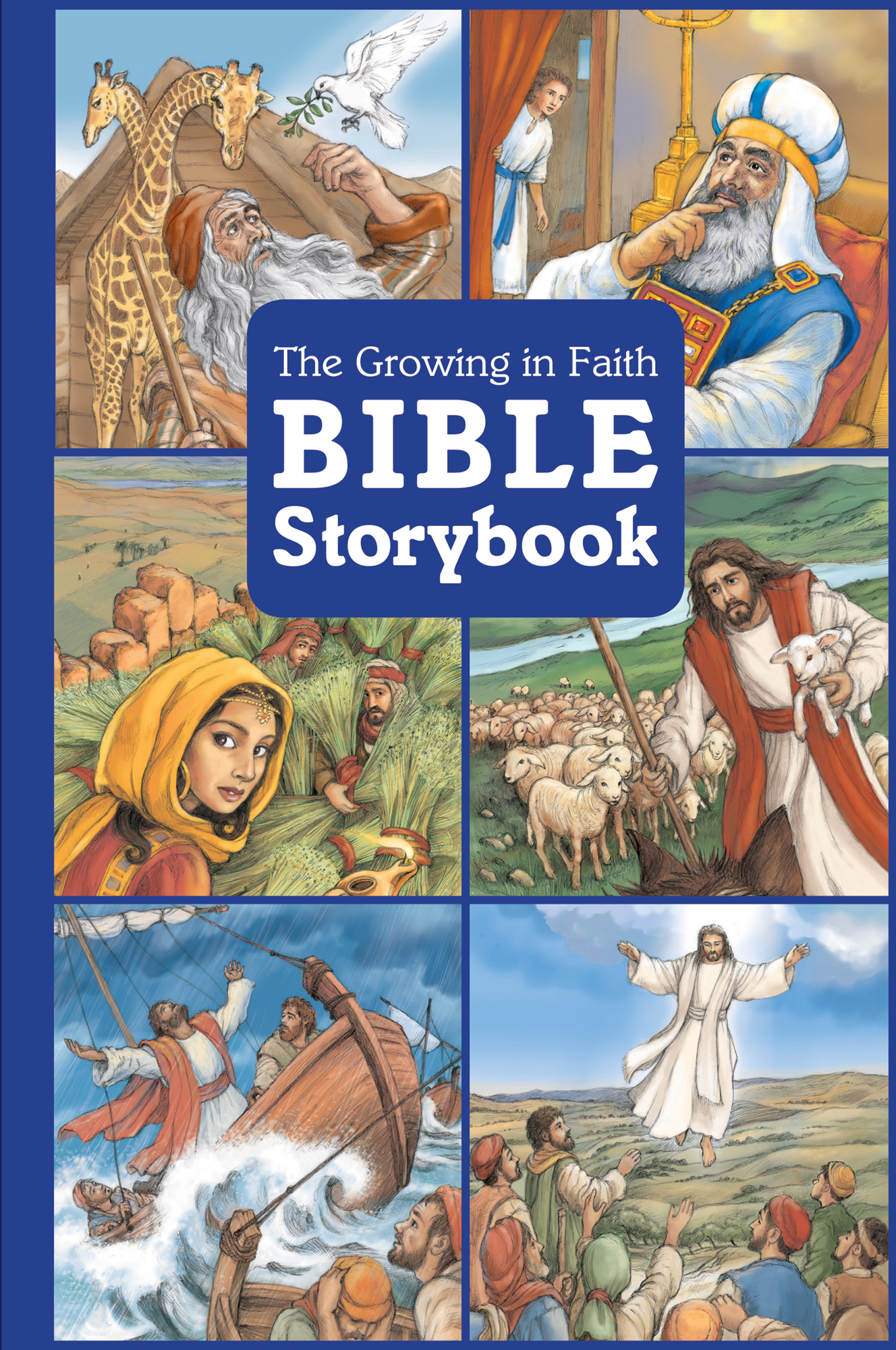 Cover for The Growing in Faith Bible Storybook