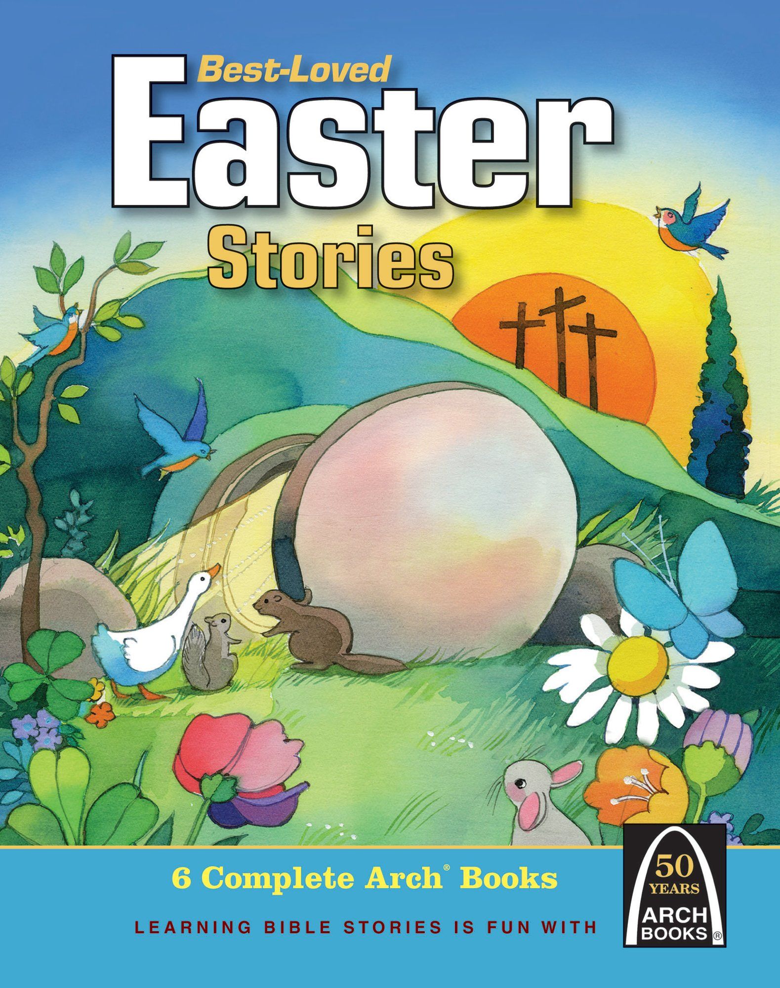 Cover for Best-Loved Easter Stories