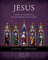 Cover for Jesus Bible Study