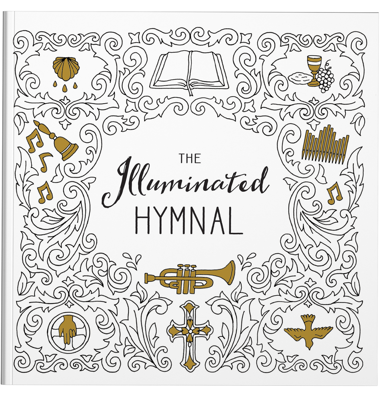 Cover for The Illuminated Hymnal