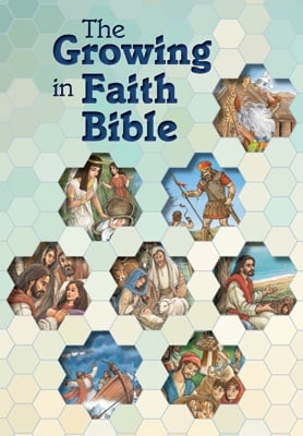 Cover for The Growing in Faith Bible